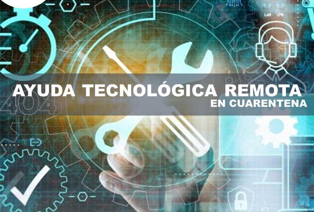 Ayuda tecnológica remota gratis