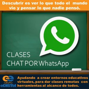 Clases por chat en WhatsApp