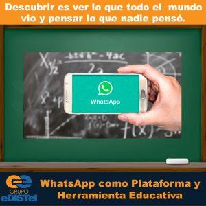 Clases por chat de WhatsApp
